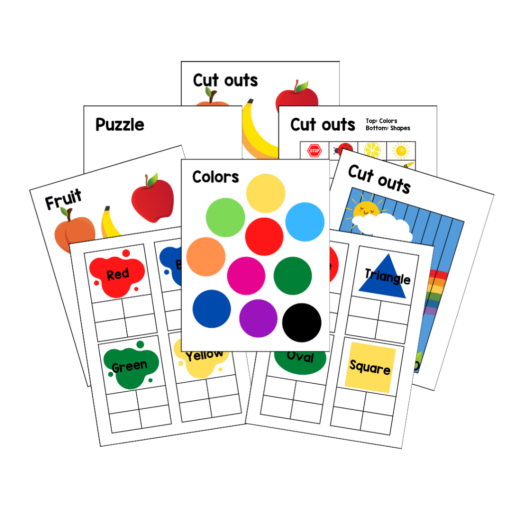 Basic toddler busy bundle