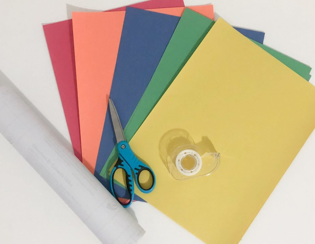 color sorting activity supplies