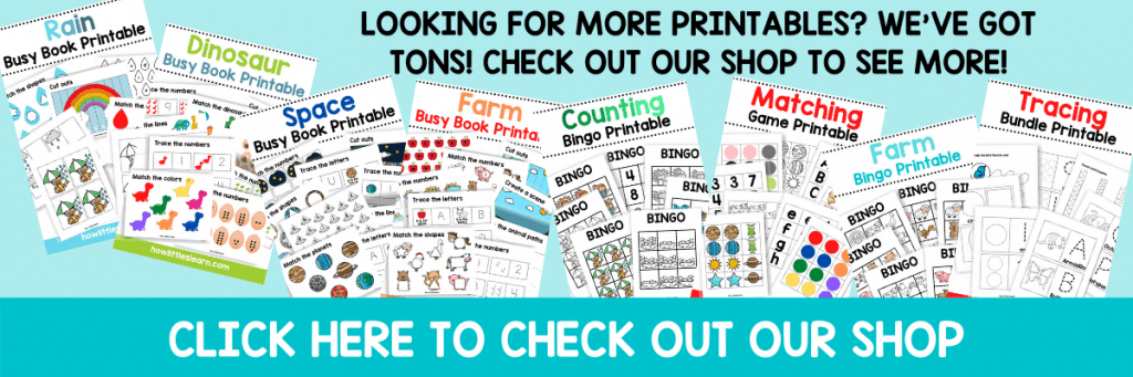 how littles learn preschool printables shop